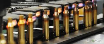 Rifle brass cartridges