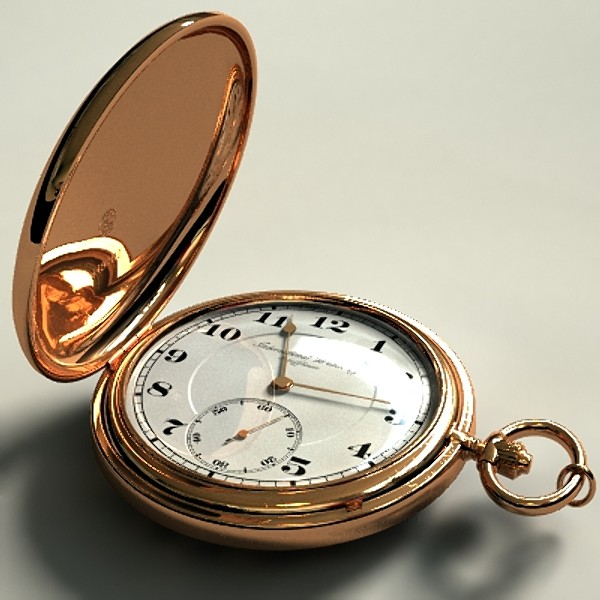 Pocket watch cleaning