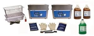 SharperTek handgun ultrasonic cleaner system