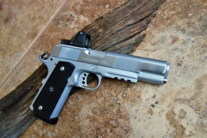 cleaning shooters handgun