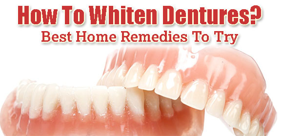 How to Whiten Dentures