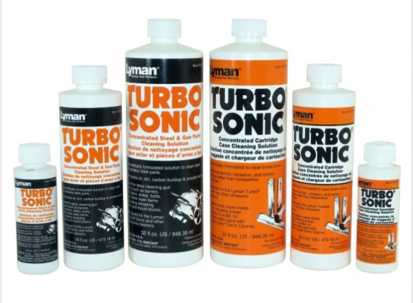 Lyman Turbo Sonic Cleaning Solutions