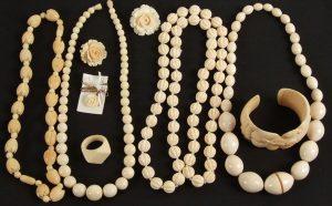 clean ivory-jewellery