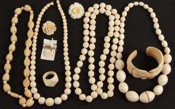 clean ivory-jewellery